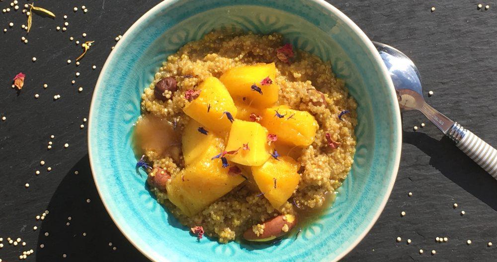 Ayurvedisches Powerfrühstück für Pittas