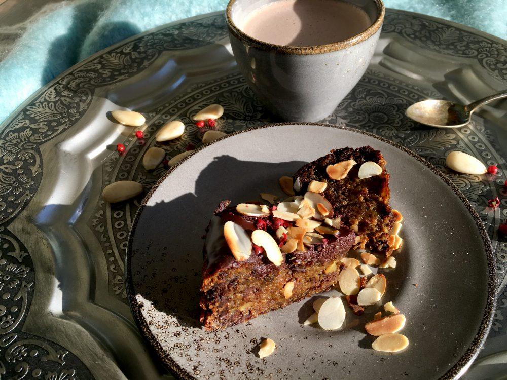 Mandelküchlein mit Kakao