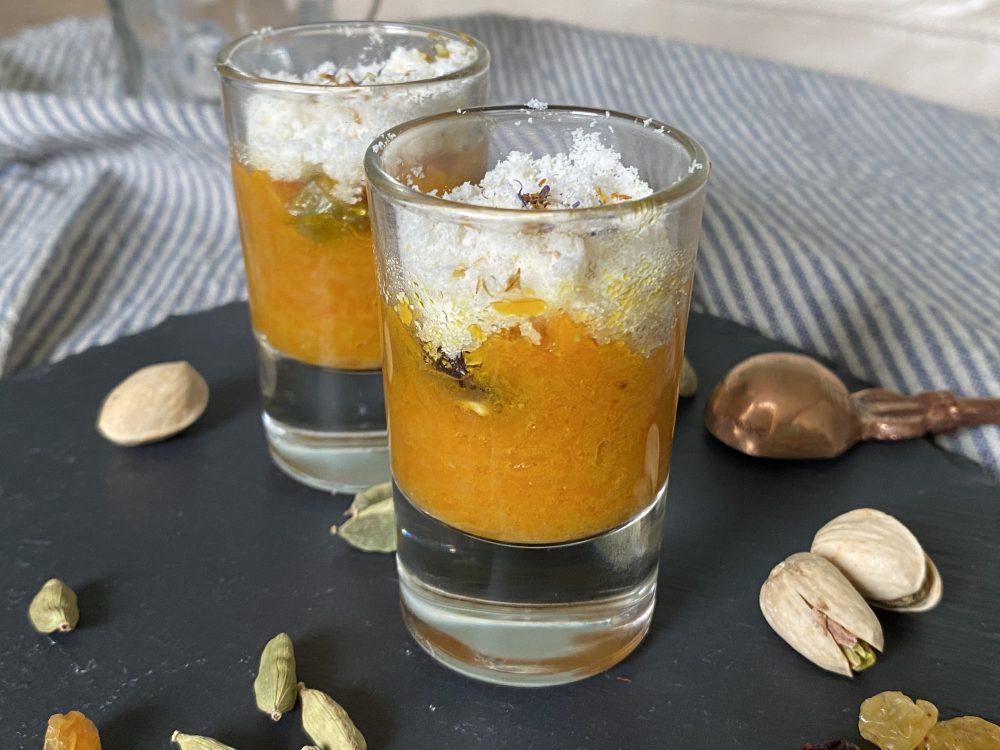Karotten-Dessert Halwa