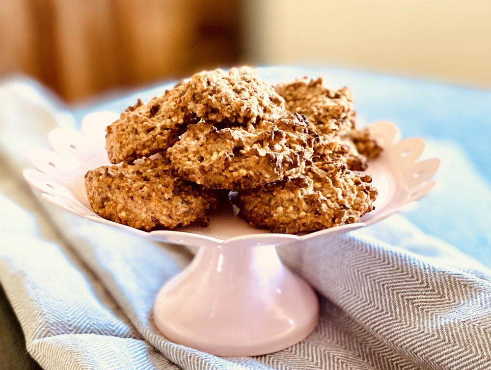 Hafercookies ganz gesund – vegan, laktose-, gluten-, histamin- und zuckerfrei