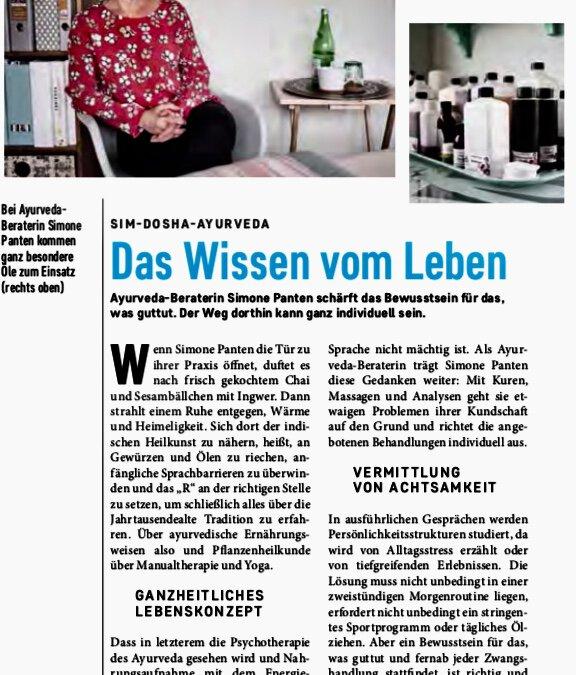 ahoi – das Leipziger Stadtmagazin – berichtet in seiner August-Ausgabe über mich